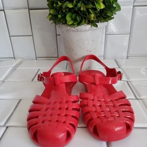 KALLI Pink/Fuschia Jellies/Sandals with Enclosed